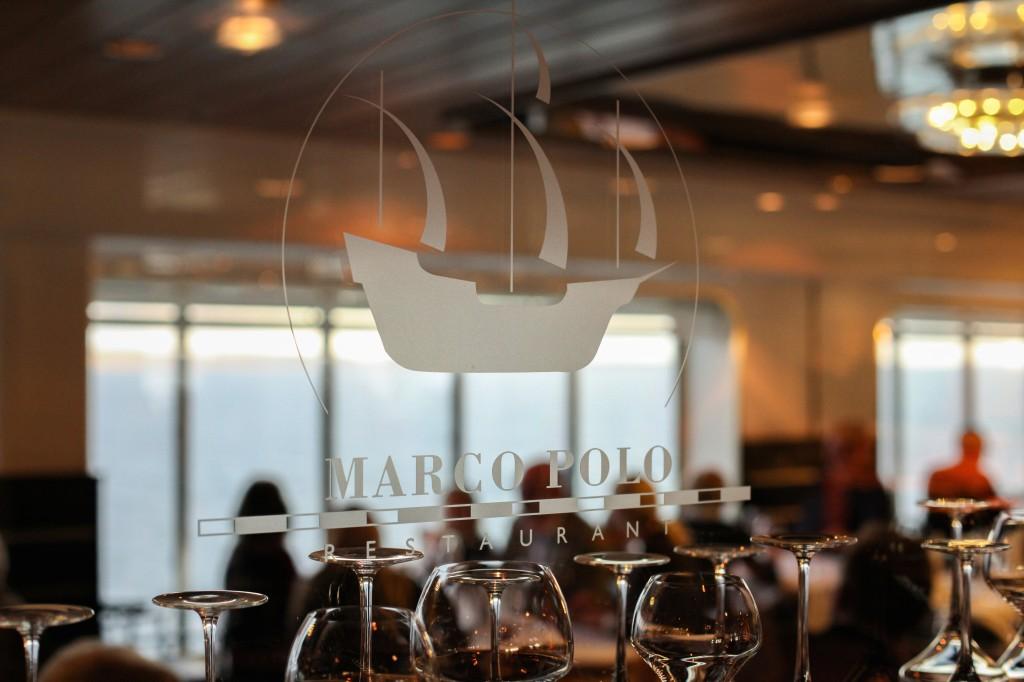 Middagen inntok vi i den flotte, men upretensiøse restauranten Marco Polo.