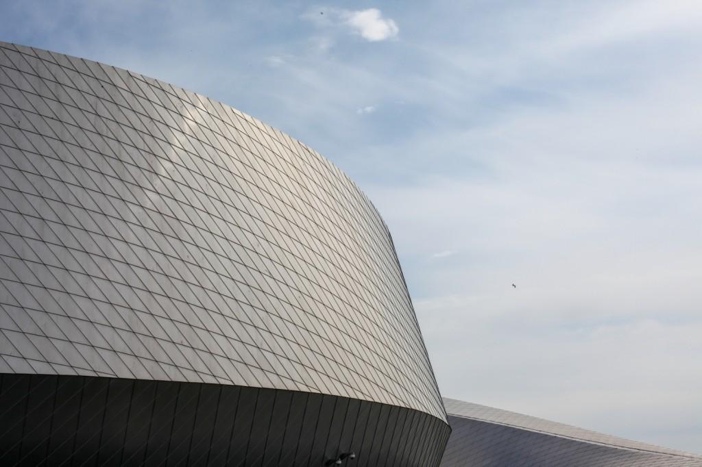 Akvariet åpnet 21. mars 2013. Det er arkitektfirmaet 3XN som har tegnet bygningene.