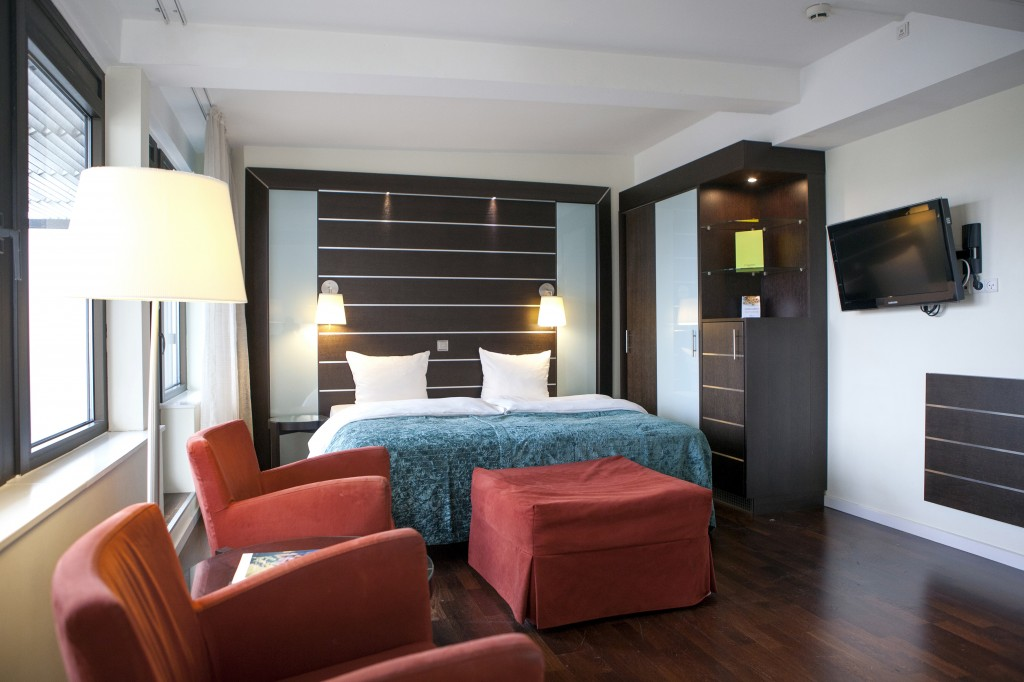 Rommene er innbydende med god plass og lyse fine farger.