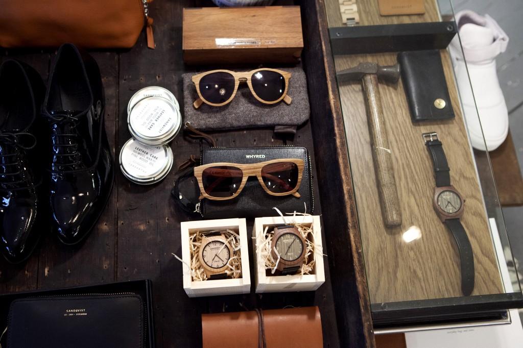 Her er det merker fra mindre danske, amerikanske og tyske designere, som kun tilbys i et fåtall butikker.