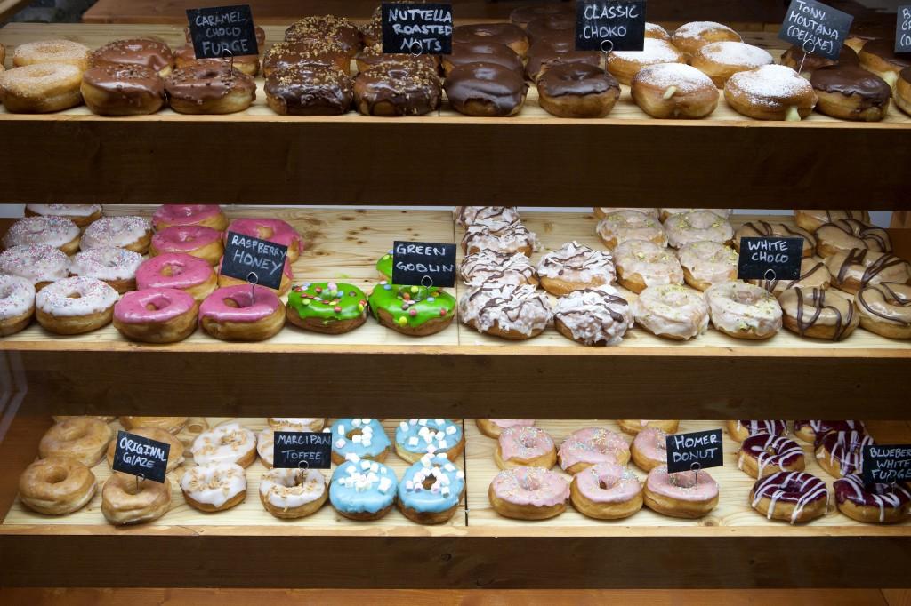 Hva med en deilig donut for å holde blodsukkeret oppe under shoppingen? ;) De var i allefall veldig gode!