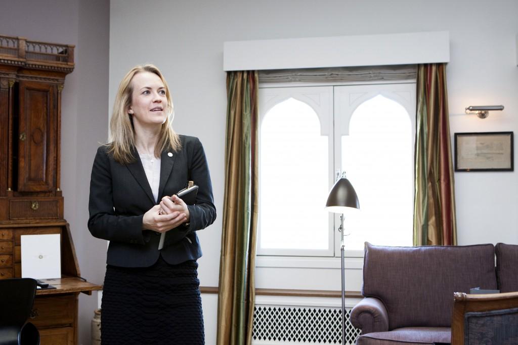 Inge Backhausen Jensen er Hotel Manager på Nimb hotel og ga oss en omvisning i det nydelige hotellet.