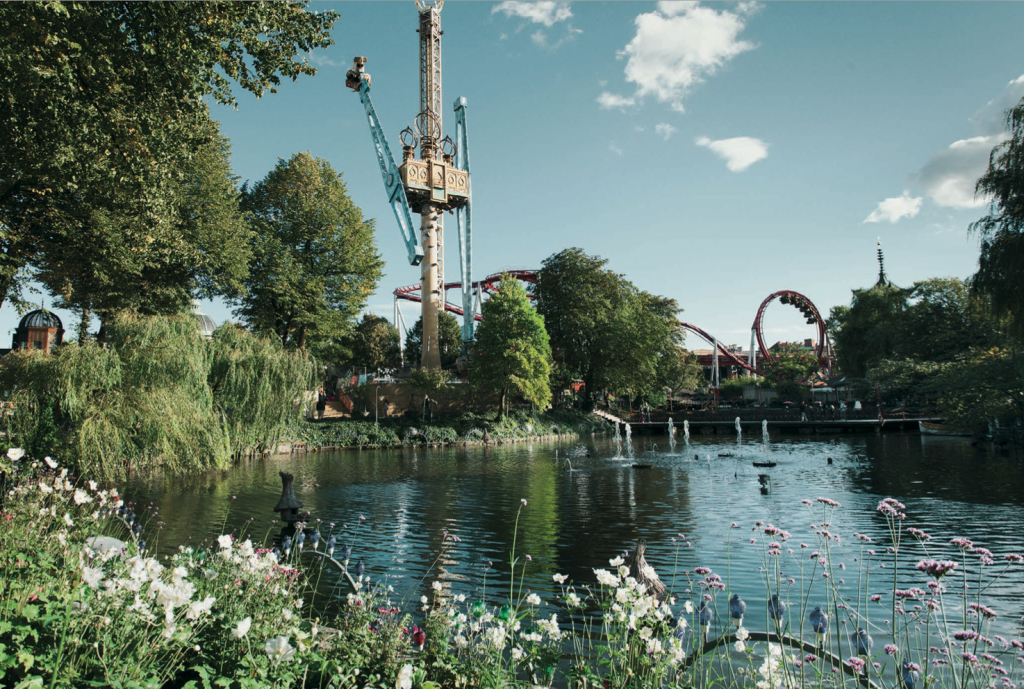 Å, så utrolig vakkert det er i Tivoli-parken på denne tiden av året. :)