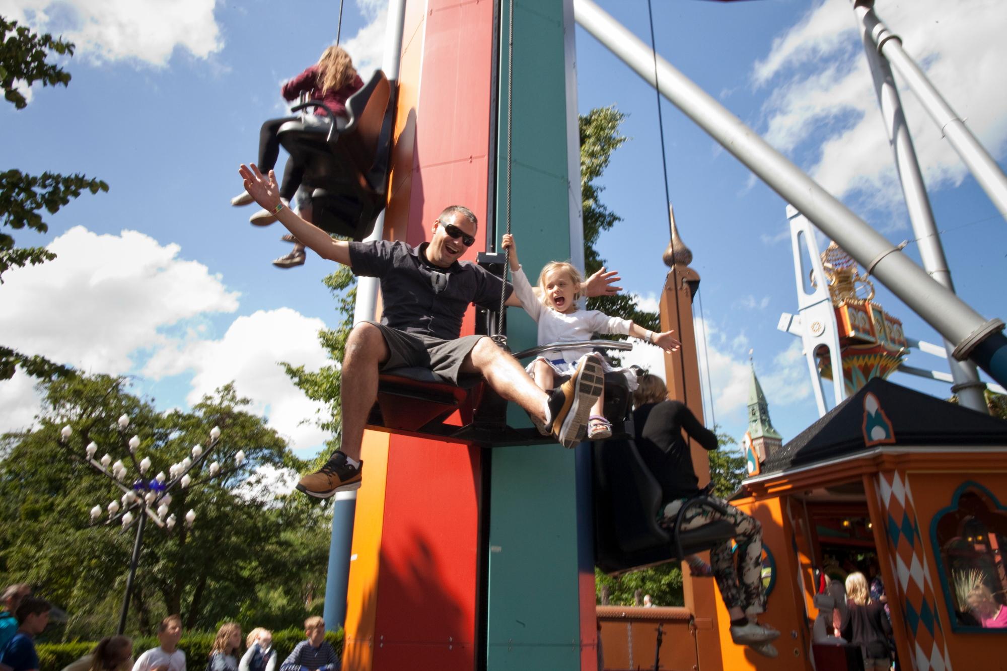 Tivoli København karuseller DFDS