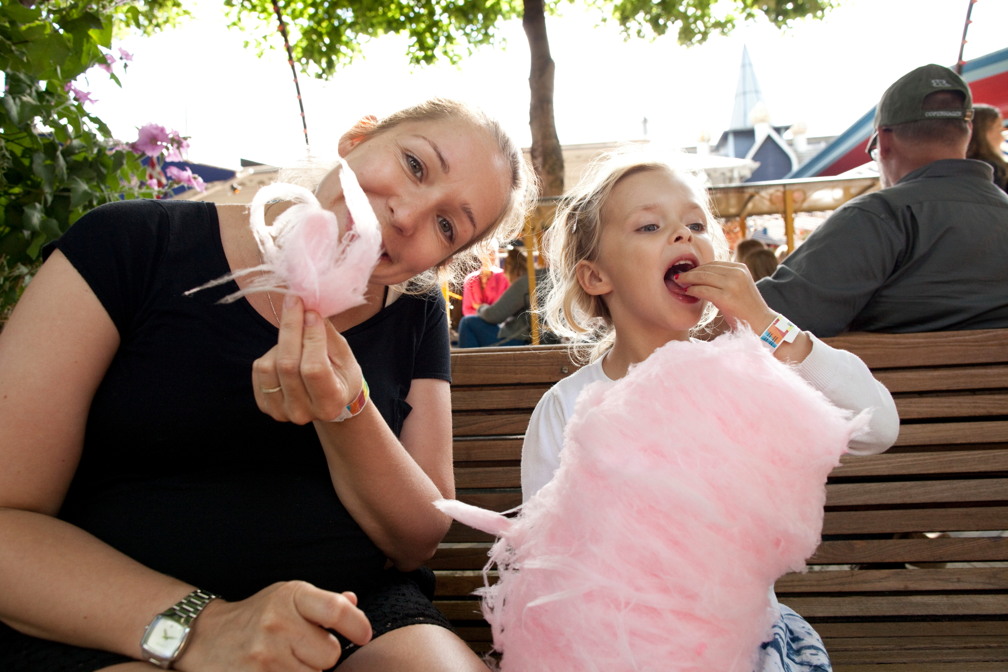 Tivoli København dfds sukkerspinn