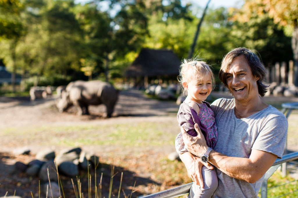 Dyrisk moro i Zoo