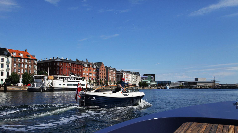 Det er veldig flott å se København fra vannet.